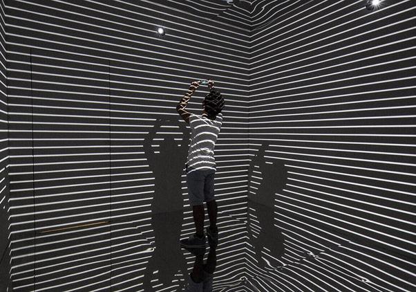 Infinity Room by Refik Anadol, Zorlu Performans Sanatları Merkezi