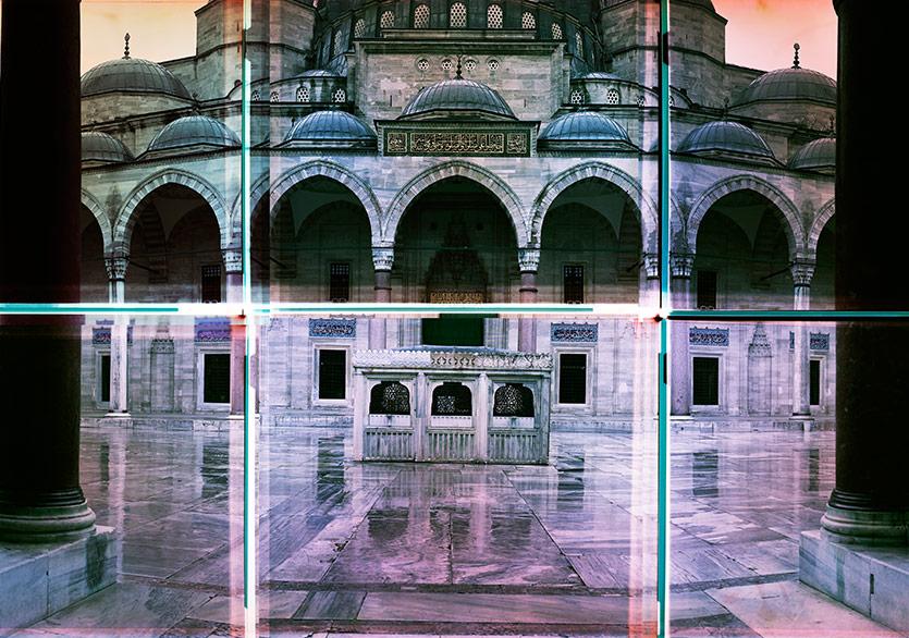 Ola Kolehmainen,Süleymaniye 1558 XI,2014,230 x 435 cm,Poliptik, kromojenik baskı, diasec