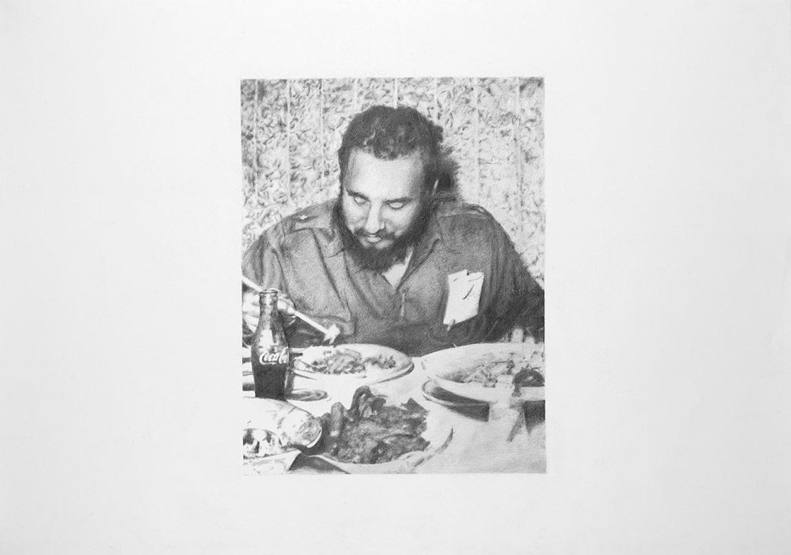 Tunca Subaşıİsimsiz, 2014Asitsiz kağıt üzerine kurşun kalem100 x 70 cm