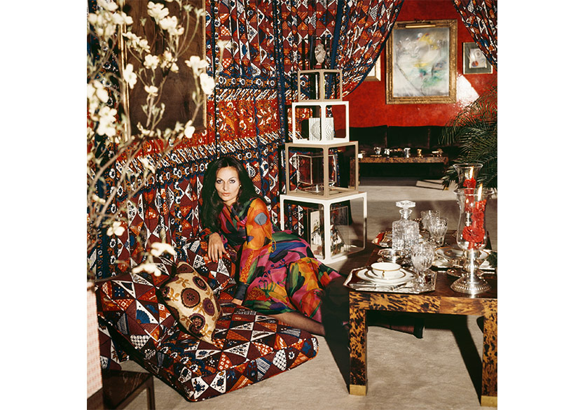 Horst P. Horst Diane von Furstenberg Around That Time 1972