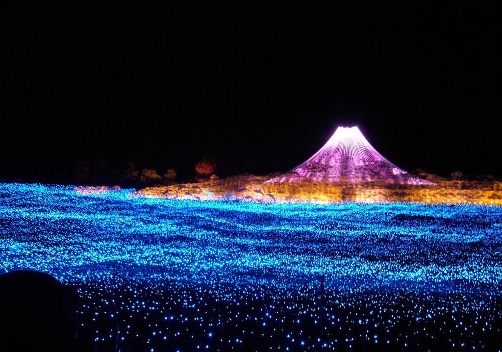Winter Light Festival Japonya'da Işık Saçıyor