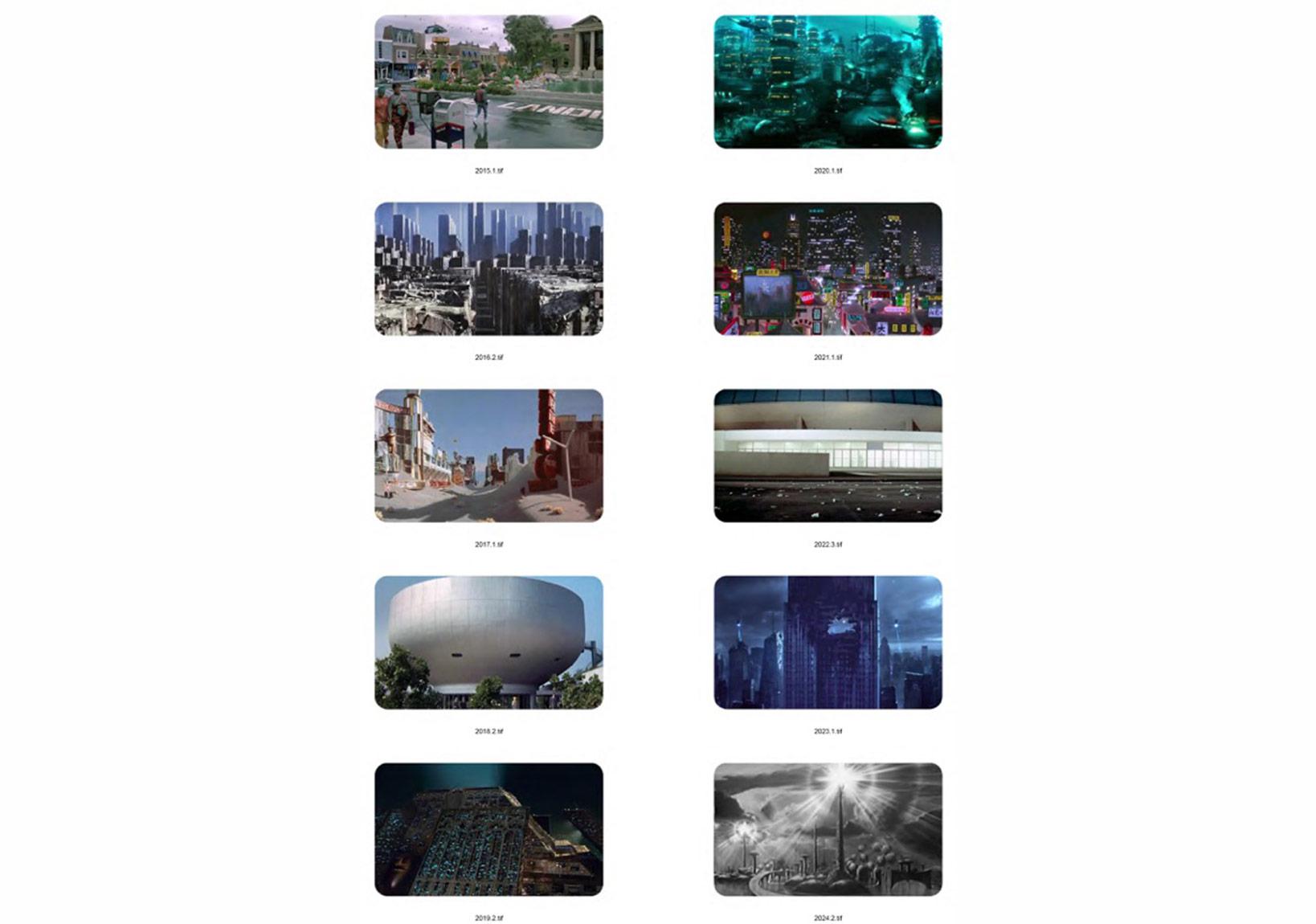 Andrea Canepa2015. Arquitecturas del futuro pasado, 201582 Photographies27 x 22 cm (each one)