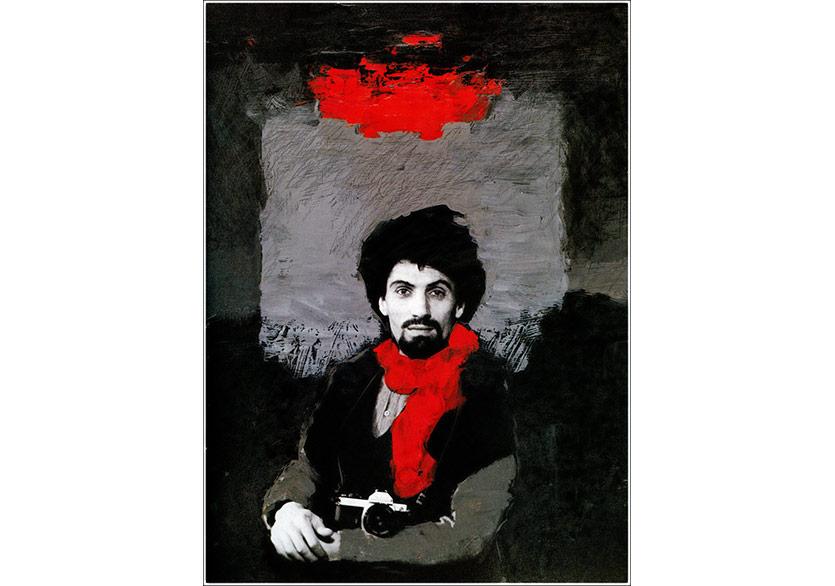 Sanatçının kendi portresi, 1991Duratrans baskı, 80x120 cm, Tek baskı | Duratrans baskı, 80x120 cm, Unique