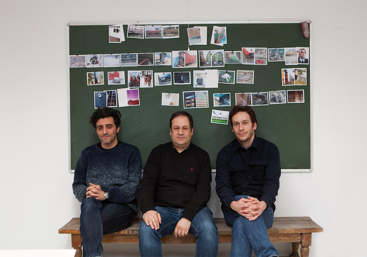 Volkan Kızıltunç, Yusuf Murat Şen ve Tuna Uysal © Nazlı Erdemirel