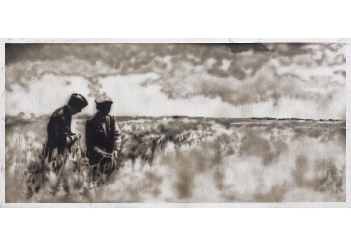 Tunca Subaşıİsimsiz, 2011Tuval üzerine akrilik120 x 240 cm
