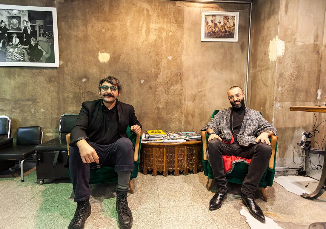 Ata Dikbaş ile Ahmet Ağırbaş©Korhan Karaoysal