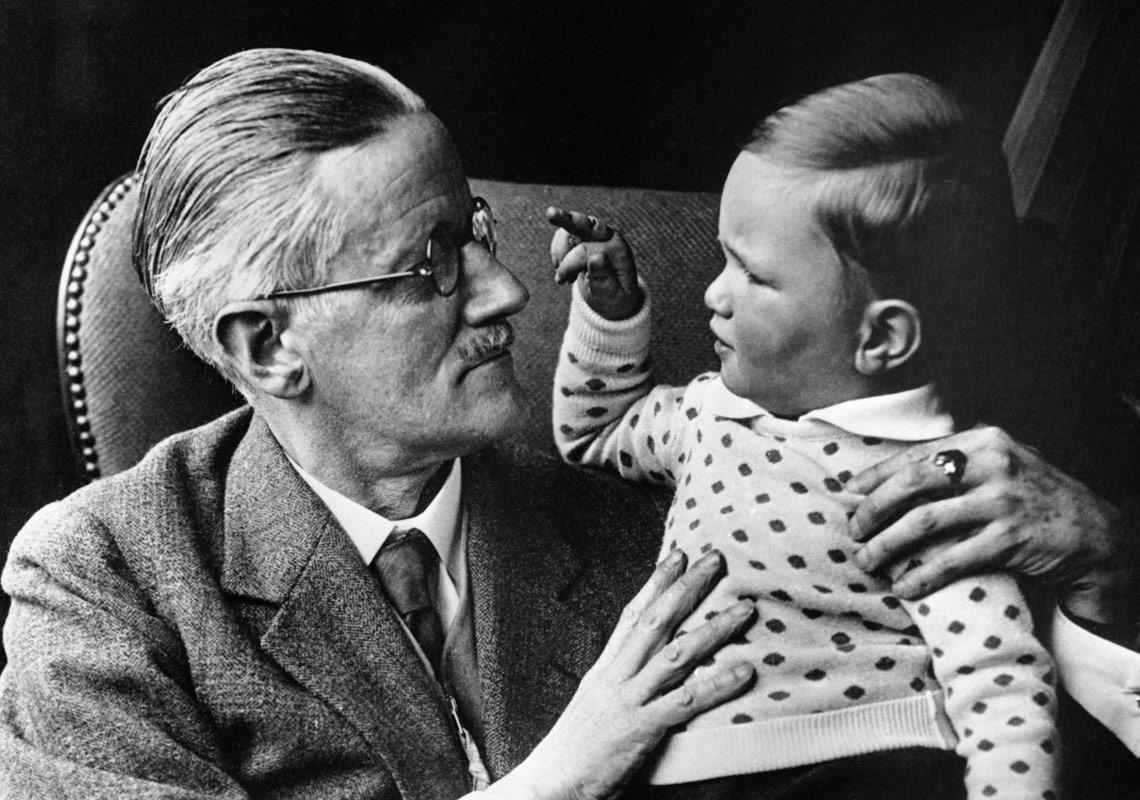 James Joyce ve torunu Stephan