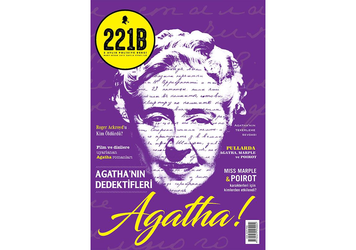 221B Dergi'nin Konuğu Agatha Christie