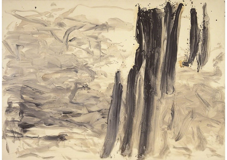 Lee Ufan, With Wind