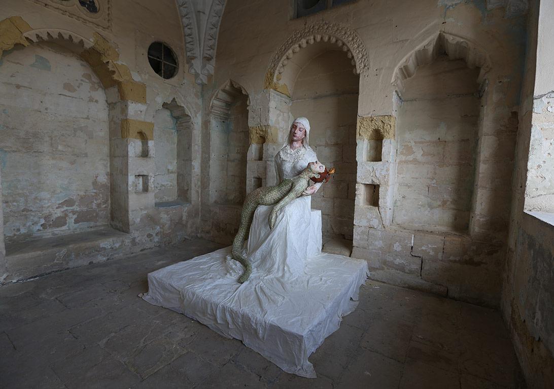 Aysel Alver, merhamet merhamet, heykel