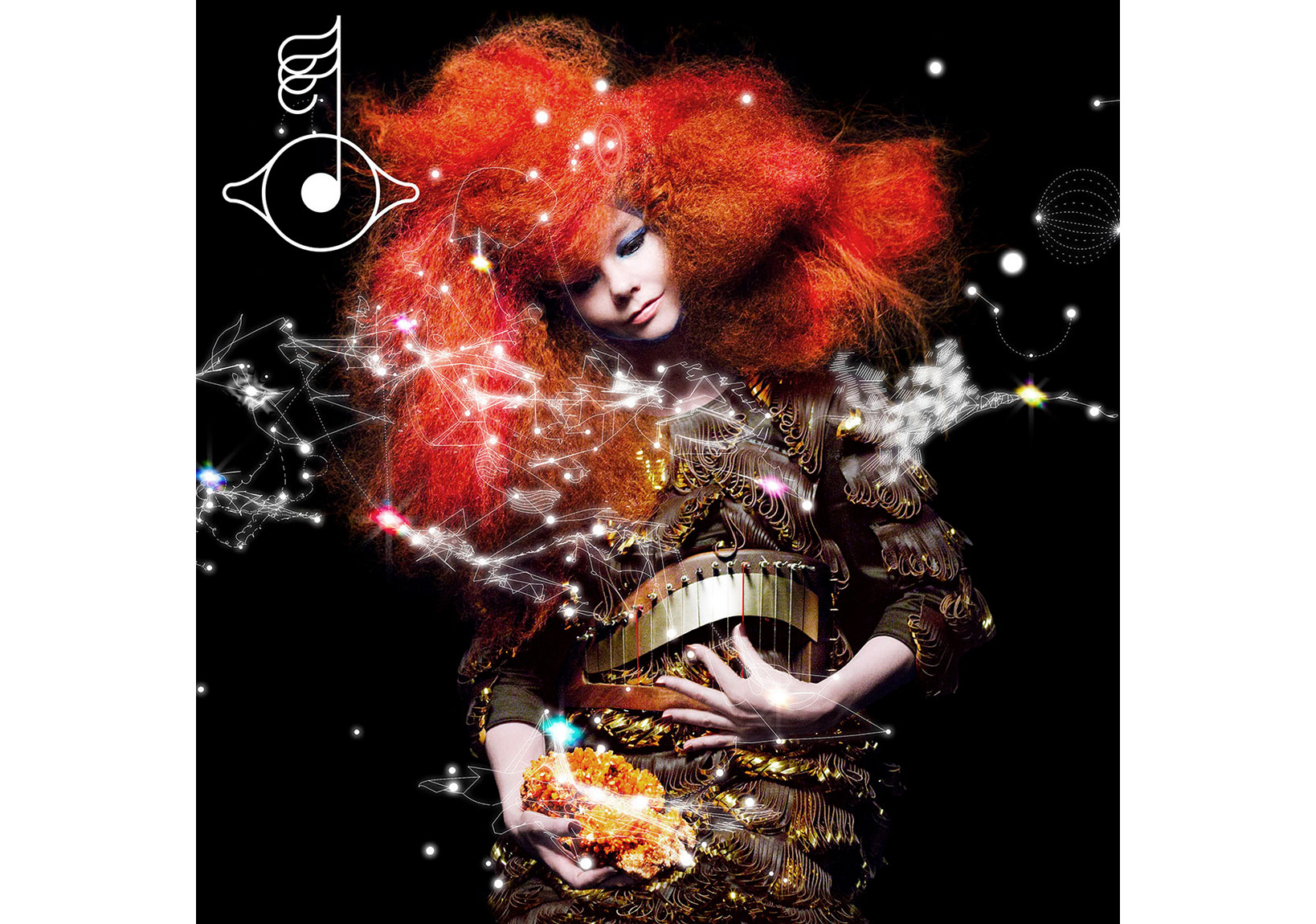 Björk, Biophilia, 2011Credit: By M/M (Paris) Photographed by Inez van Lamsweerde & Vinoodh Matadin. Image courtesy of Wellhart Ltd & One Little Indian
