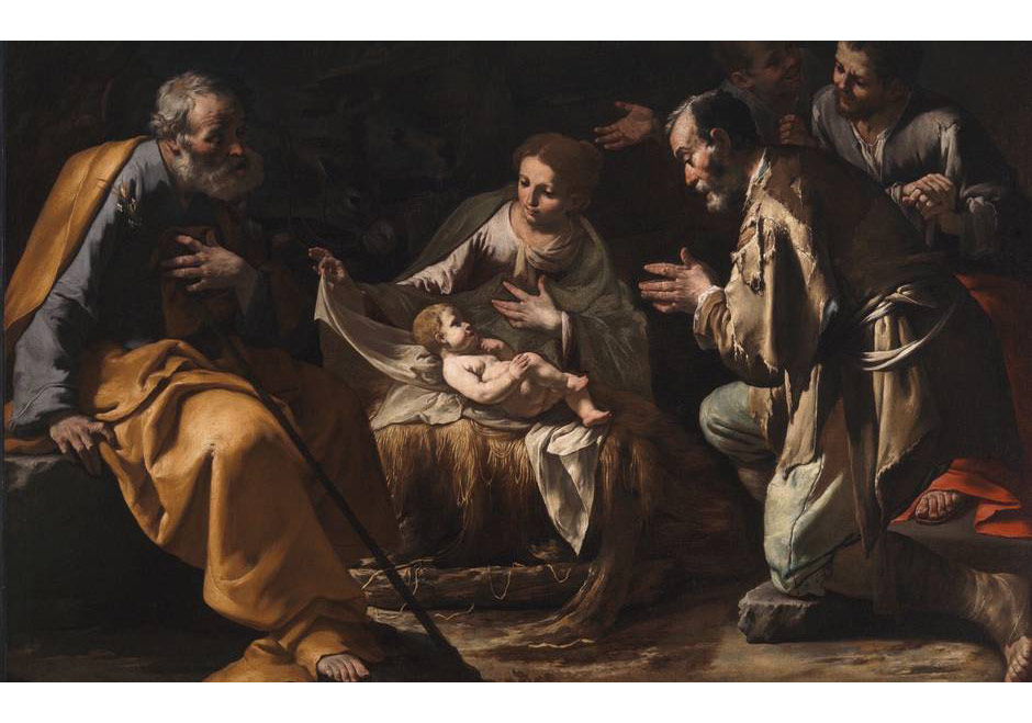 Master of the Aunnunciation to the Shepherds,The Adoration of the Shepherds