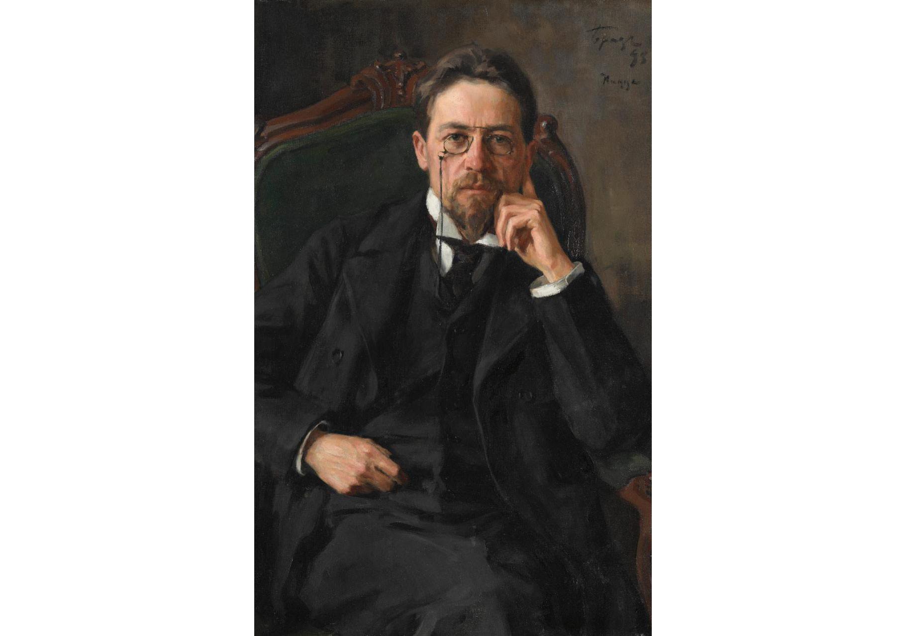 Like an avuncular GP: Anton Chekhov (detail)CREDIT:STATE TRETYAKOV GALLERY, MOSCOW