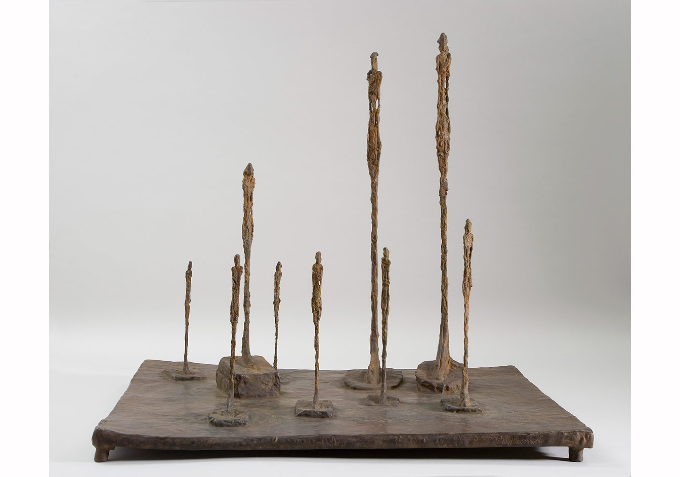 Alberto Giacometti, Orman, 1950 / The Forest, 1950 Bronz / Bronze, 56,99 x 60,98 x 47,30 cm, Giacometti Vakfı Koleksiyonu, Paris, env. 2007-0200 / Giacometti Foundation Collection, Paris, inv. 2007-0200 © Estate Giacometti (Fondation Giacometti + ADAGP) Paris, 2015