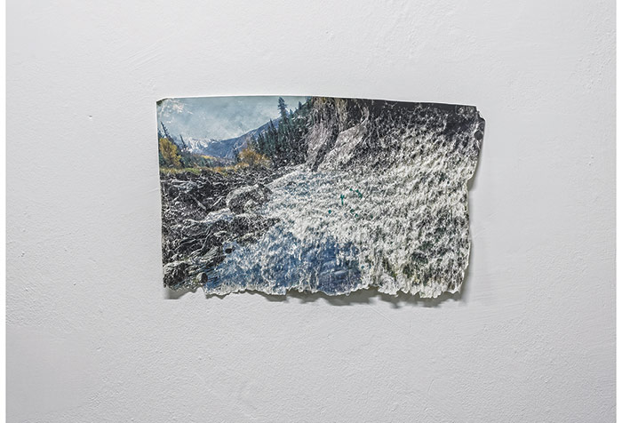 """Uygur Yılmaz, """"Su Üzerine Su"""" / """"Water on Water"""", 2007 - 2014, 40x62 cm   Photo: Rıdvan Bayrakoğlu"""