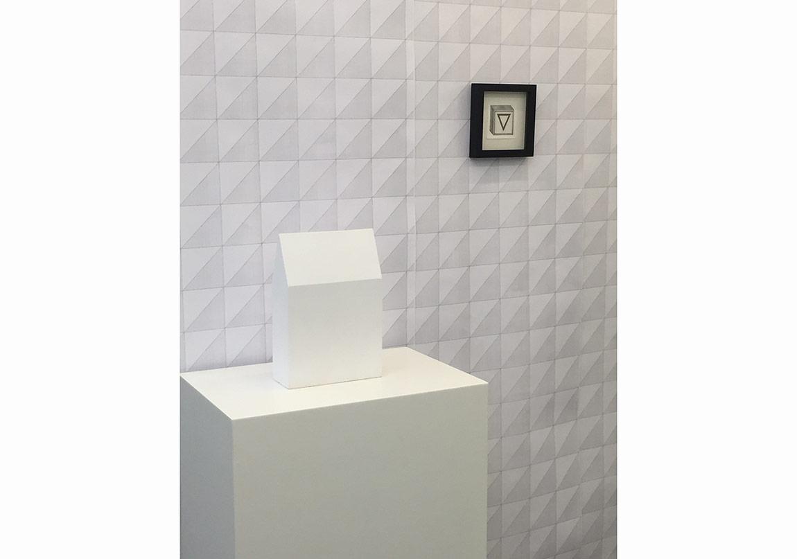 Yuşa Yalçıntaş, 2. Column, 2016, clay, 34 x 23 x 10 cm