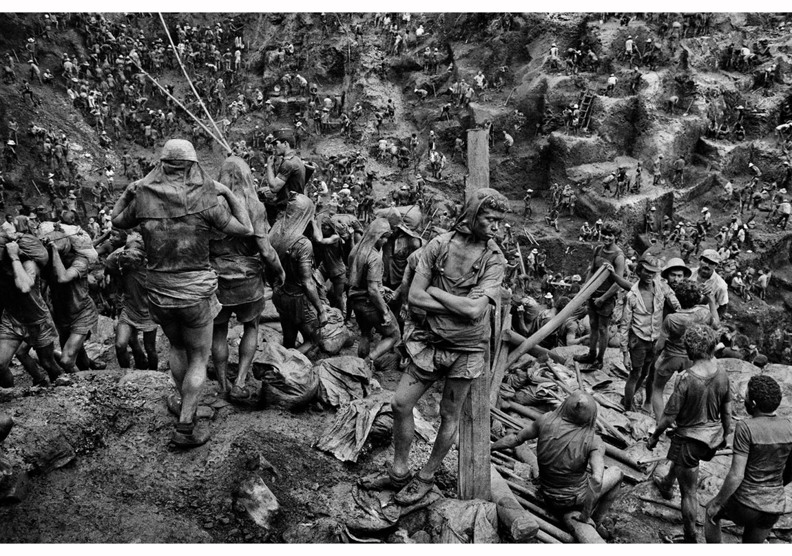 Serra Pelada, Pará Eyaleti, Brezilya, 1986 © Sebastião Salgado, Sebastião Salgado/Amazonas Images/Sony Pictures Classics izniyle