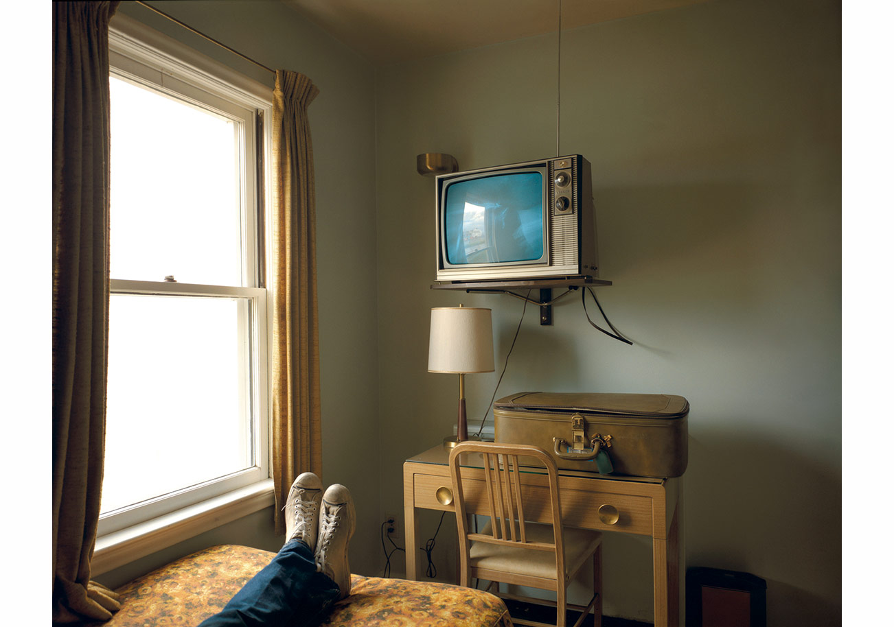 Room 125, Westbank Motel, Idaho Falls, Idaho, July 18, 1973, from the Uncommon Places series. Courtesy of the artist and 303 Gallery, New York.