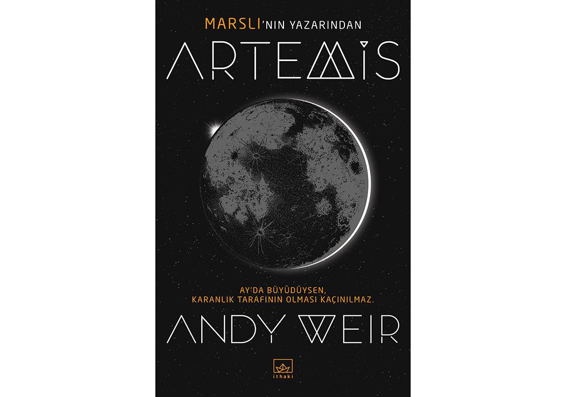 Andy Weir'dan Yeni Bir Roman: Artemis