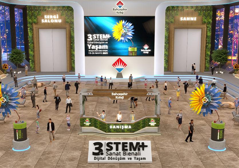 Bahçeşehir Koleji 3. STEM+Sanat Bienali Başlıyor