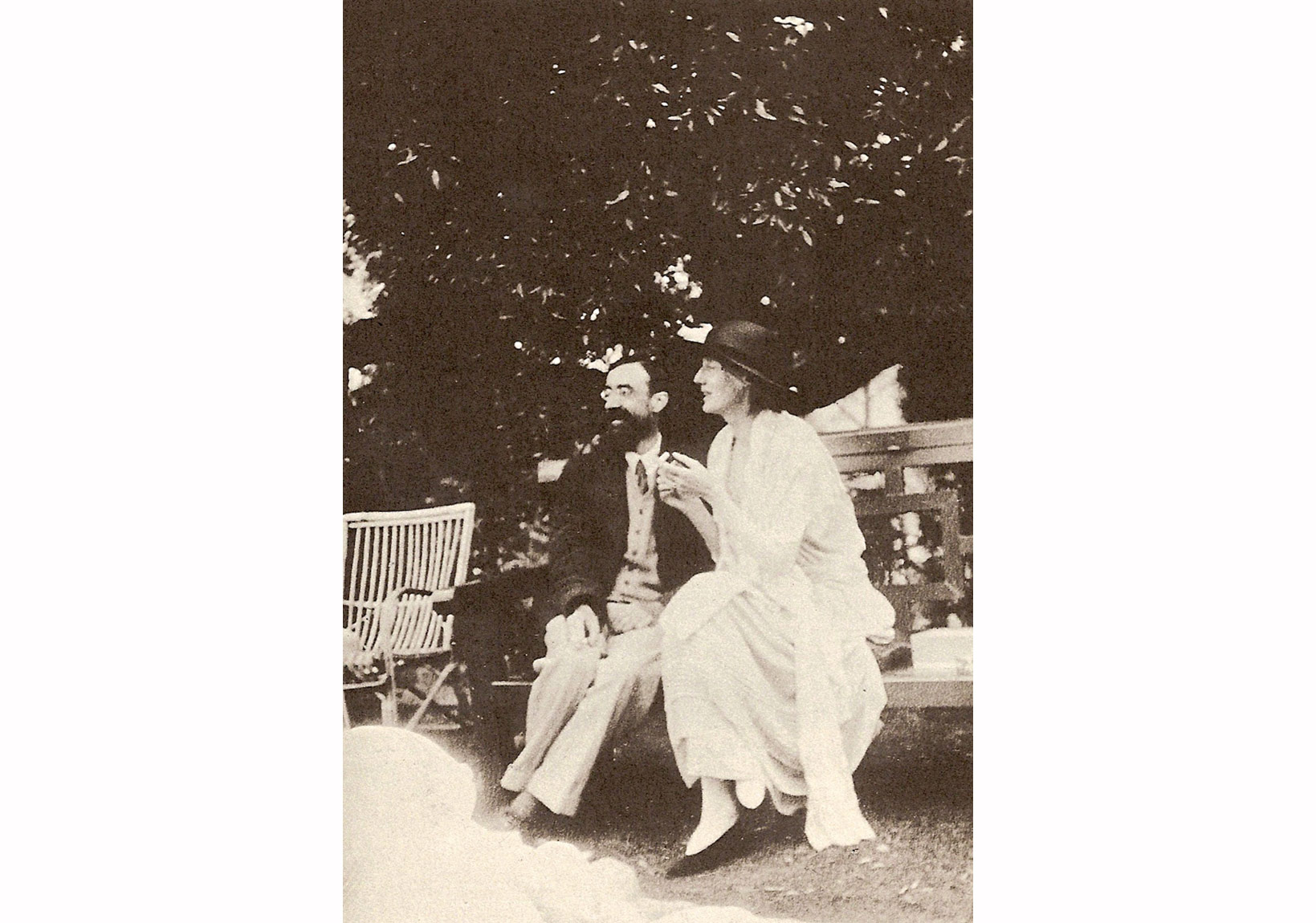 Lytton Strachey ve Virginia Woolf