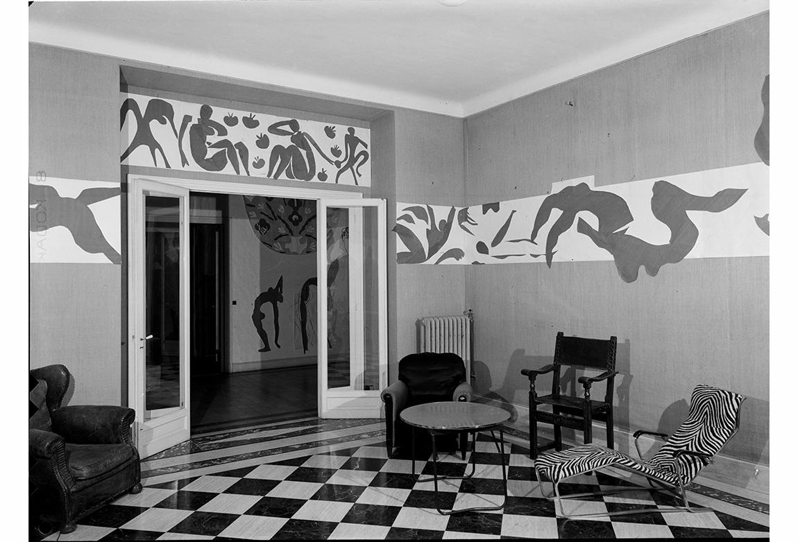 Hôtel Régina, Nice, 1953. Fotoğraf: Hélène Adant. Centre Pompidou – MnamCci – Bibliothèque Kandinsky