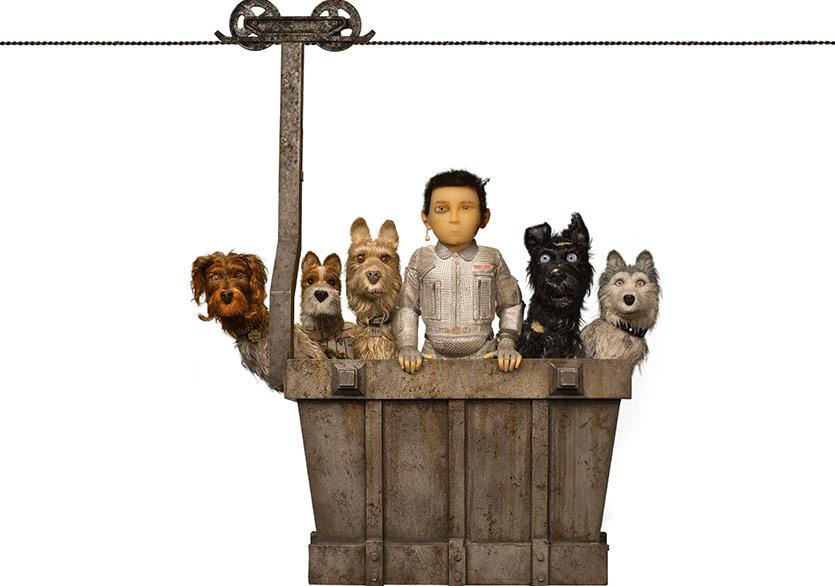 "Wes Anderson ""Isle of Dogs""a 90 Saniyelik Yeni Video Yaptı"