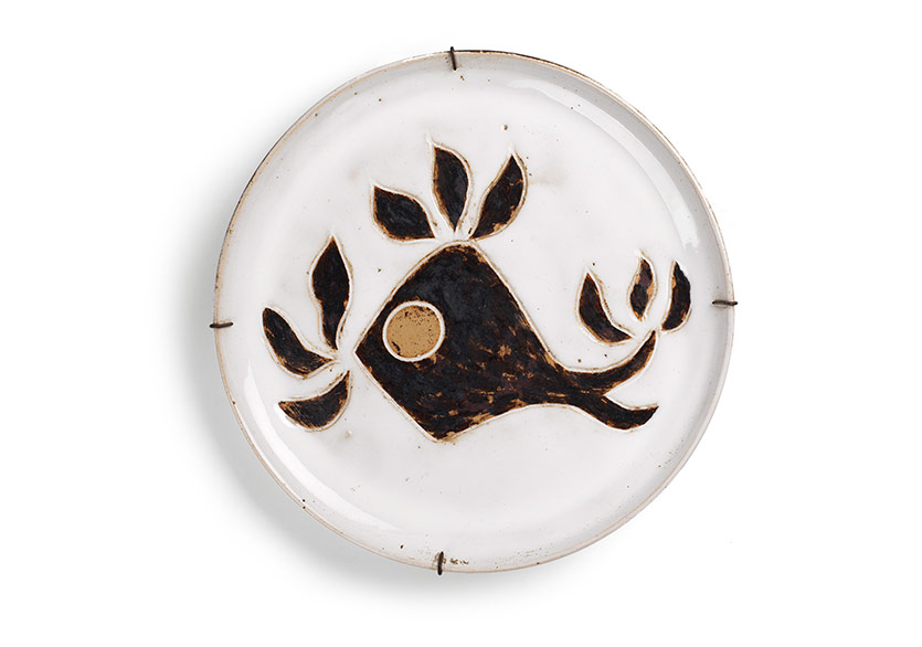 FüreyaKoral, seramik tabak, çap 30cm, Sara Koral Aykar Koleksiyonu