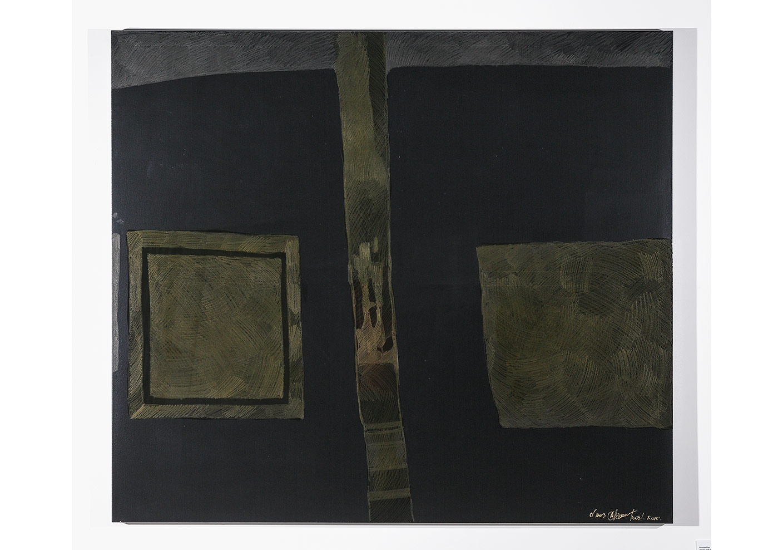 Oksana Mas«EXIST FOR ONESELF» (2015) canvas, acrylic, varnish, pencil 130 х160cm