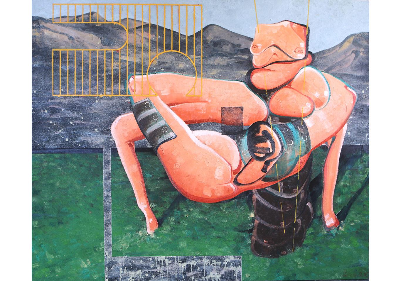 Organik Makine - 167x200 cm - TÜYB - 2015