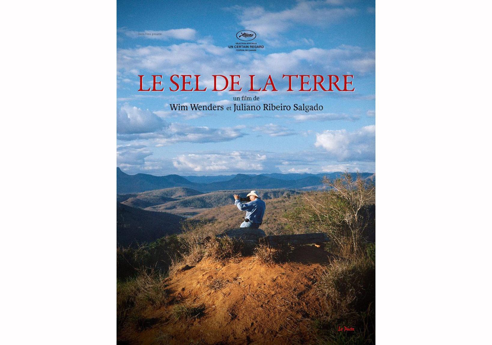 'Le Sel de la Terre' Fransa afişi