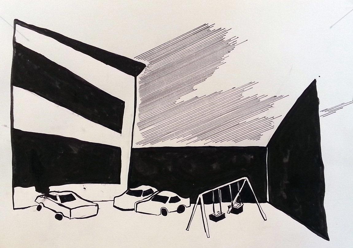 Misafirhane,Alican İnal, Merve Bedir,2015