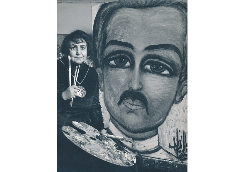 "Fahrelnissa Zeid'in Yaşamına ve Sanatına Dair: "" Fahrelnissa Zeid: Fırtınaya Doğru"""
