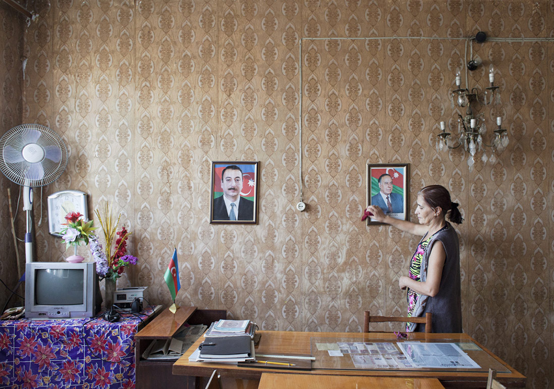Mila Teshaieva, 'Umut Veren Sular' serisinden