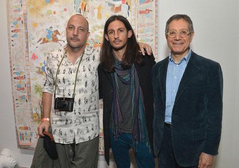 Stefan Simchowitz, Kour Pour, Jeffrey Deitch fotoğraf: Charley Gallay