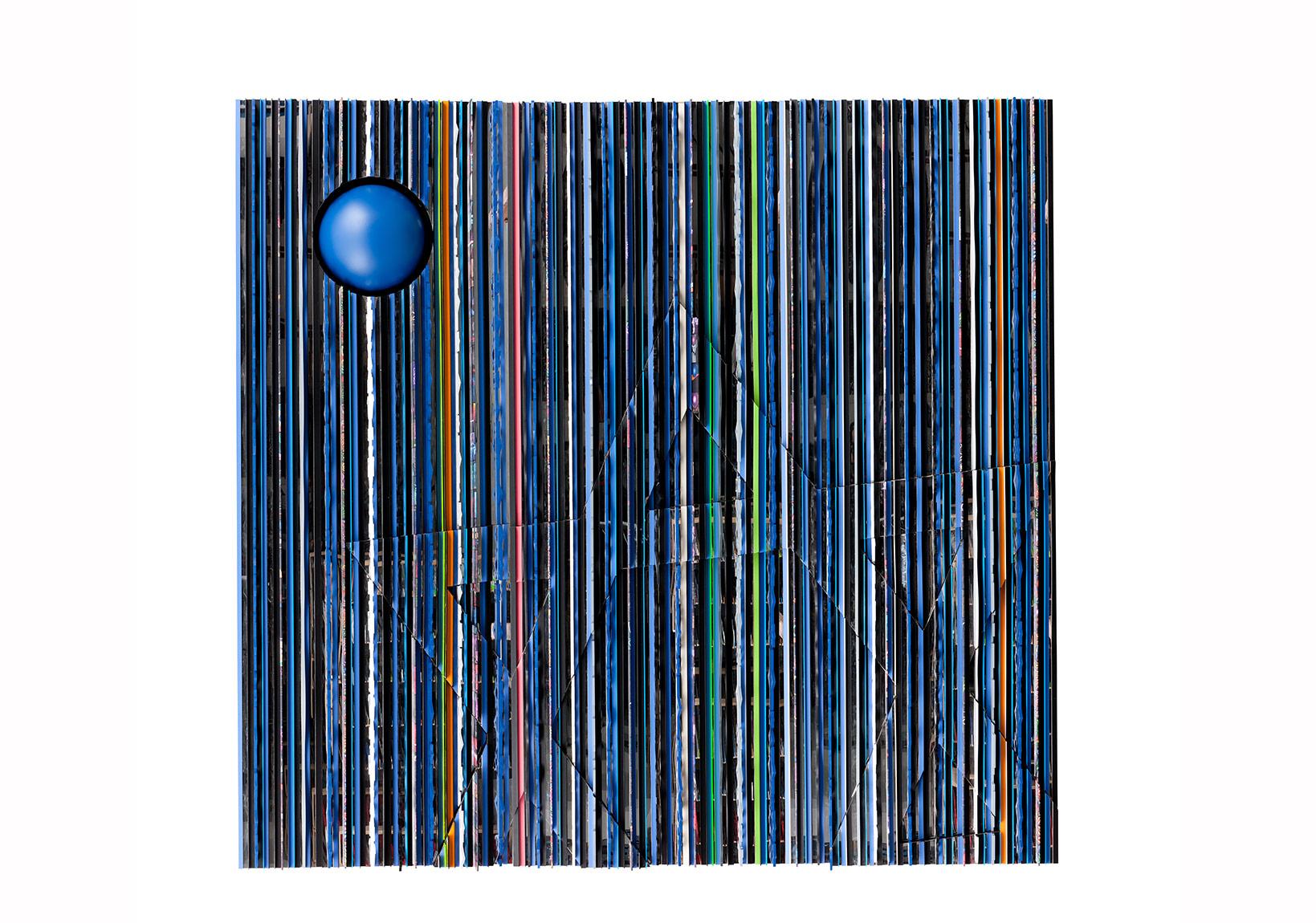 Kutsal Yüzleşme 1, 2012, Karışık Malzeme, 300 x 300 x 25 cm
