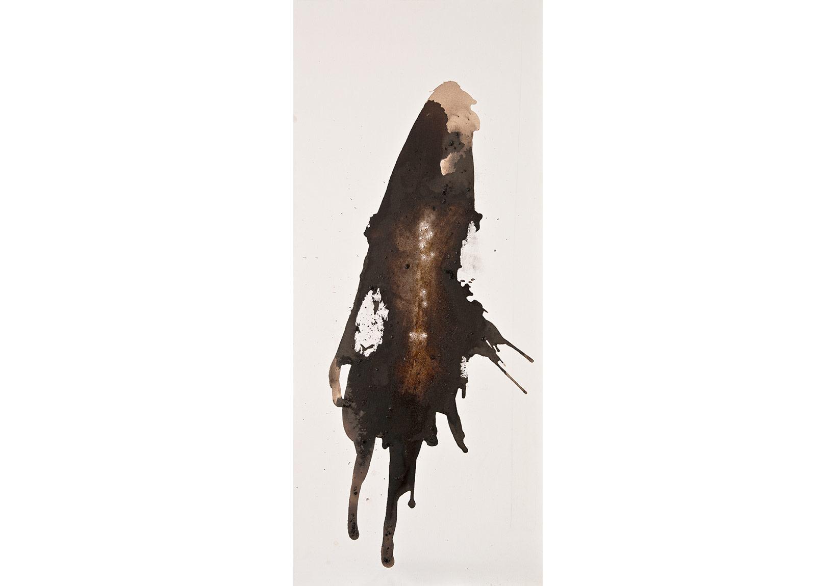 İsimsiz, 2015, tuval üzerine karışık teknik, 174 x 75 cm