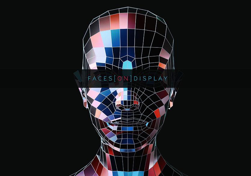 Can Büyükberber ,Faces[On]Display (Tanıtım görseli)İnteraktif AR yerleştirmesi