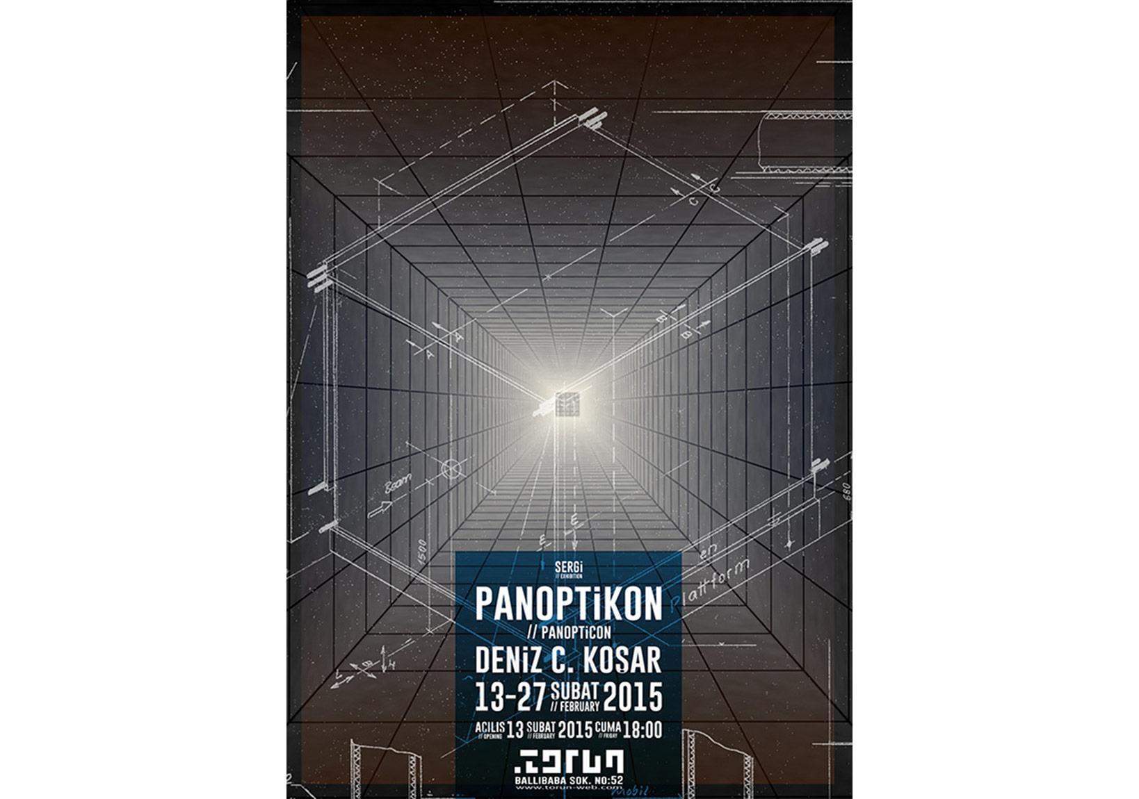 'Panoptikon' sergi afişi