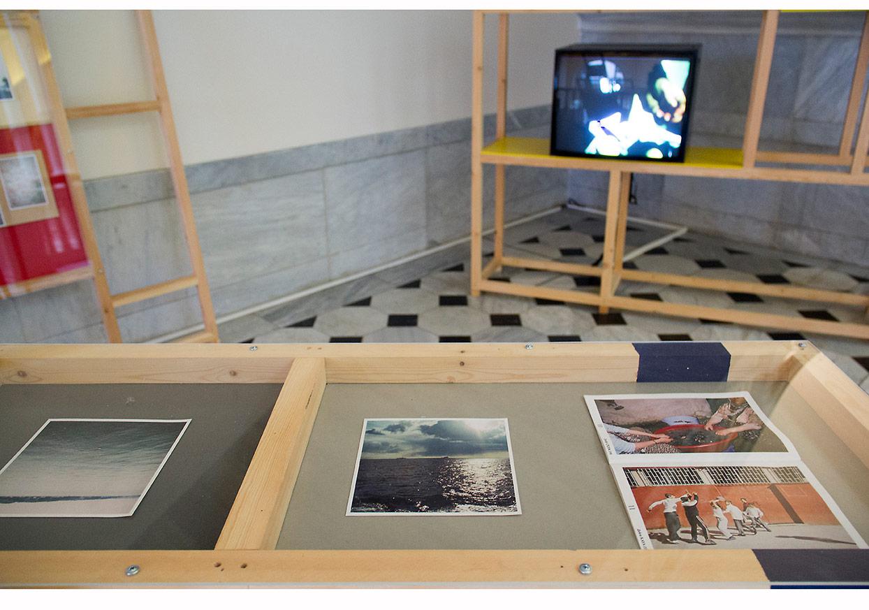 Can Altay, Jeremiah Day You don't go slumming (enstalasyon görüntüsü), SALT Galata, 2014 Fotoğraflar: Mustafa Hazneci