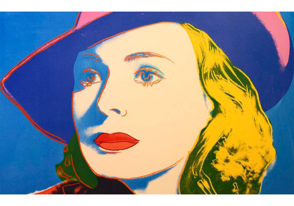 Andy Warhol, Ingrid Bergman with Hat, 1983