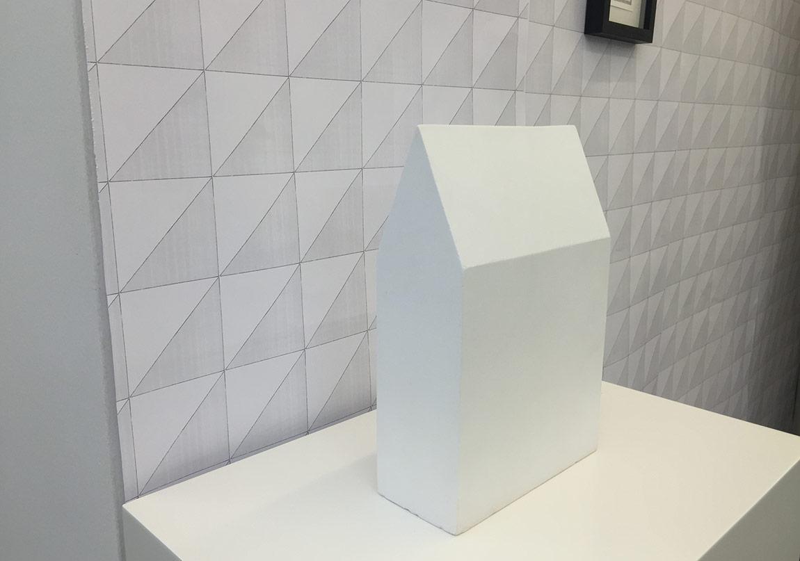 Yuşa Yalçıntaş, 2. Column, 2016, clay, 34 x 23 x 10 cm(2)