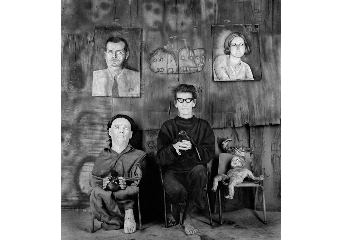 Place of the eyeballs, 2012, Arşivsel pigment baskı, 90x90 cm, Ed.5 © Roger Ballen, Galerie Karsten Greve Köln, Paris, St Moritz izniyle