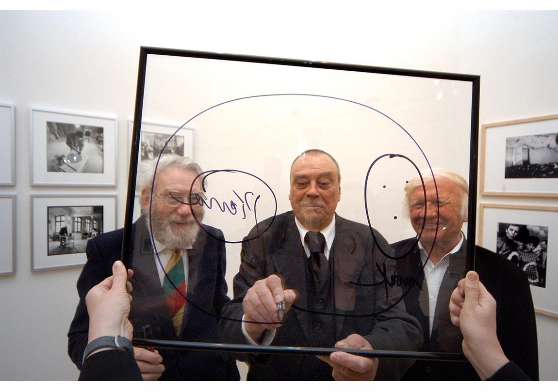 Piene, Uecker, Mack, Foto: Daniel Roth