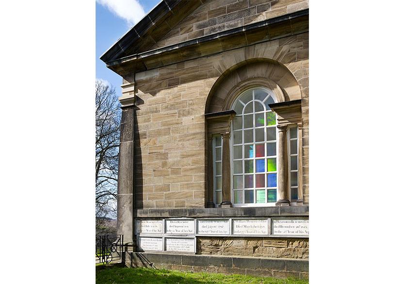 Yorkshire Sculpture Park'ta To Breath Gökkuşağı