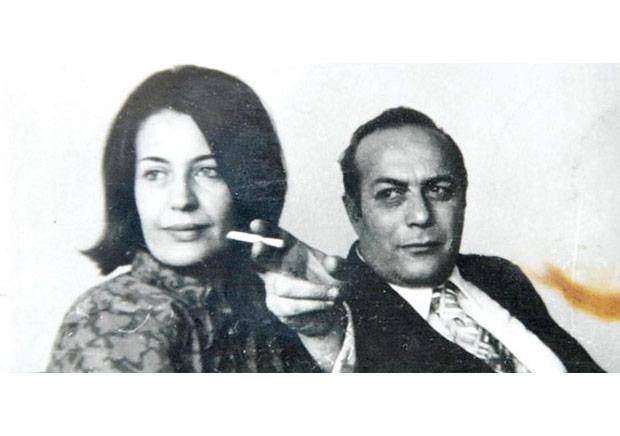 Cemal Süreya ve eşi Zuhal