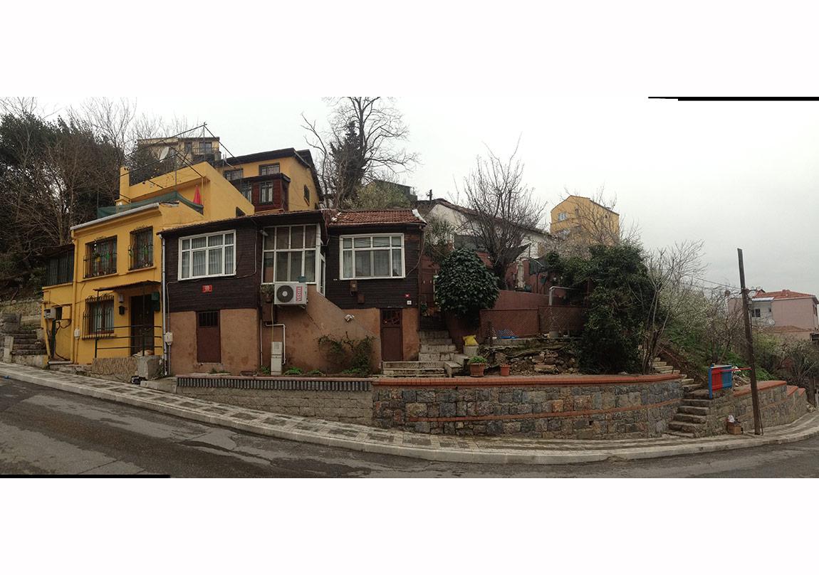 Kuzguncuk, Can Yücel Sokağı, Can Yücel evi panoramik