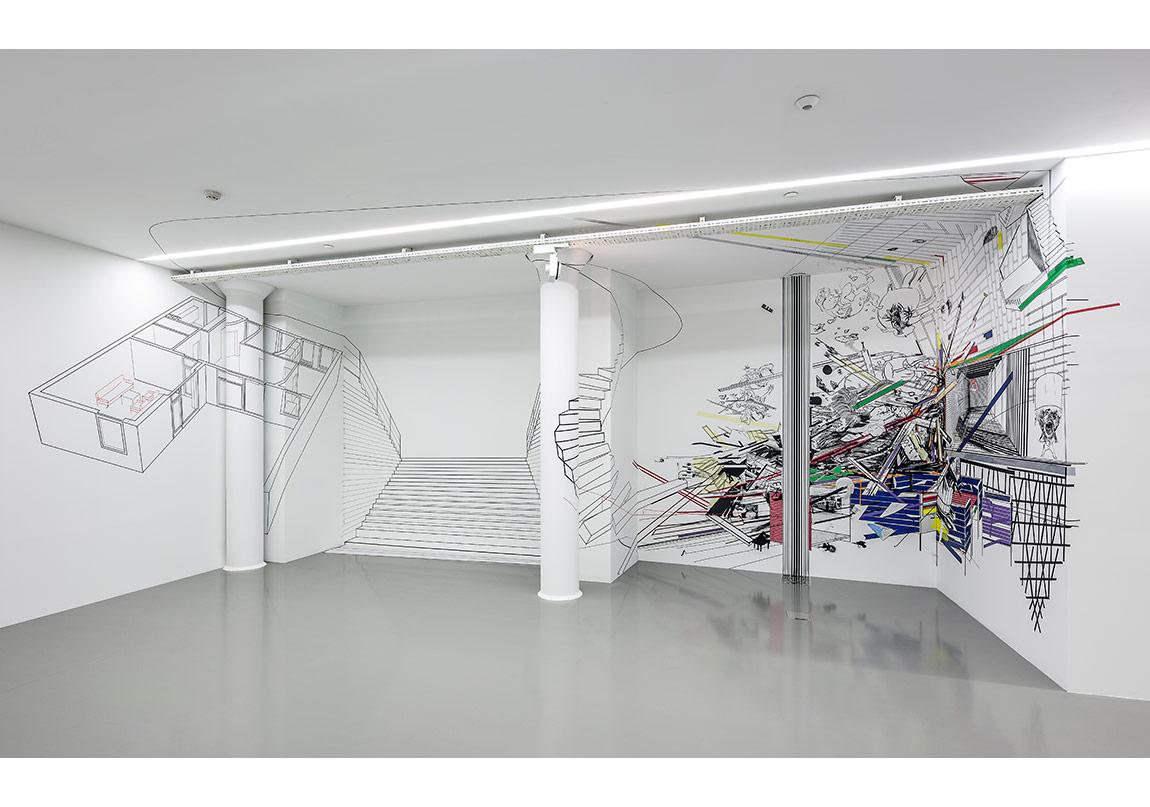 Nick Hess, Manzaralı Oda | A Room with a View, 2015Fotoğraf: Murat Germen