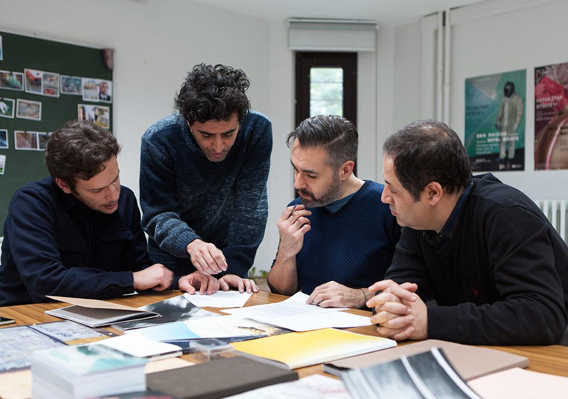 Tuna Uysal, Volkan Kızıltunç, Serdar Darendeliler ve Yusuf Murat Şen (soldan sağa) © Nazlı Erdemirel