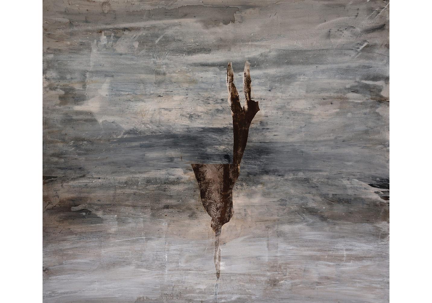 İsimsiz, 2015, tuval üzerine karışık teknik, 167 x 194 cm
